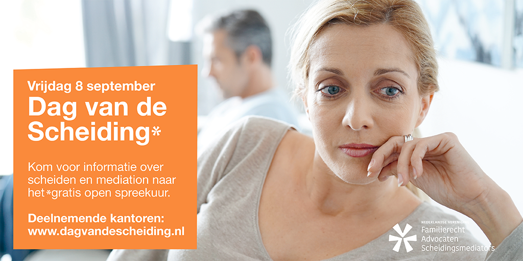 Gratis spreekuur over scheiding en mediation